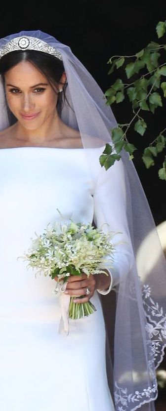 meghan markle wedding bouquet