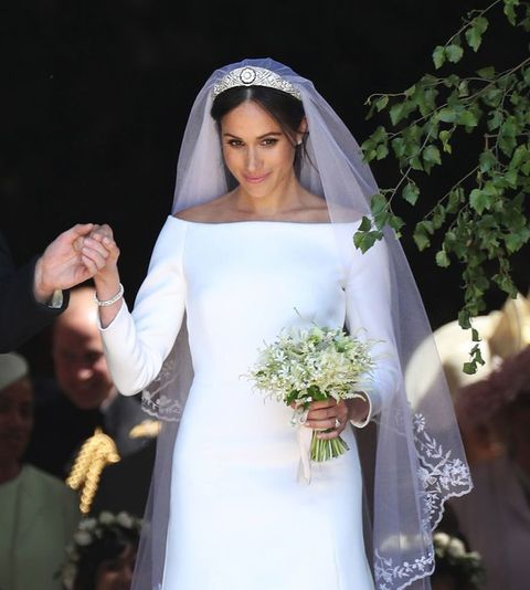 ad5caccd159 Givenchy s Clare Waight Keller Talks Designing Meghan Markle s Royal  Wedding Dress