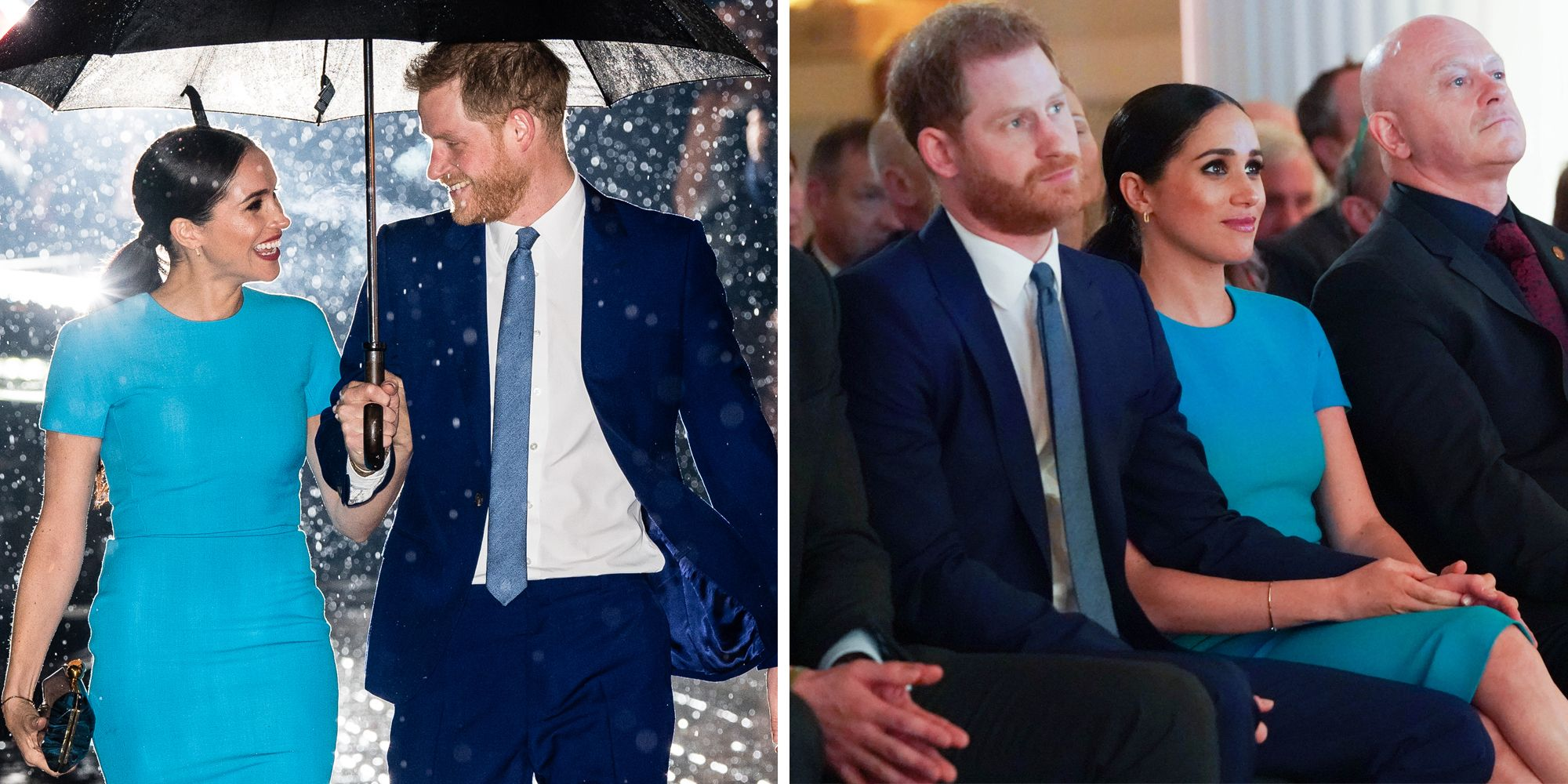 prince harry and meghan markle show pda at endeavor fund awards prince harry and meghan markle show pda