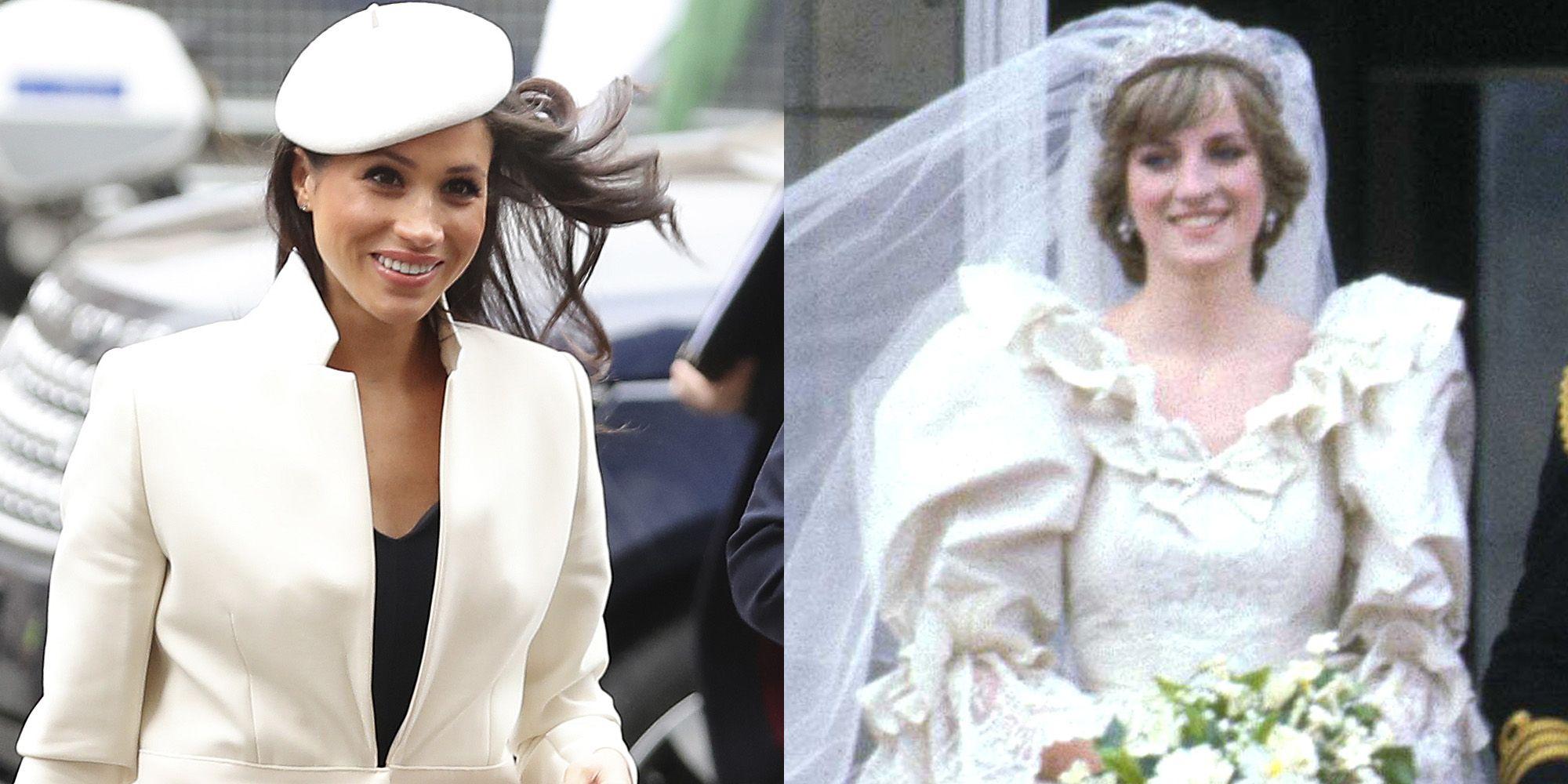 Princess Diana's Wedding Dress Designer May Be Designing Meghan Markle's Gown: Princess Diana Wedding Dress At Reisefeber.org