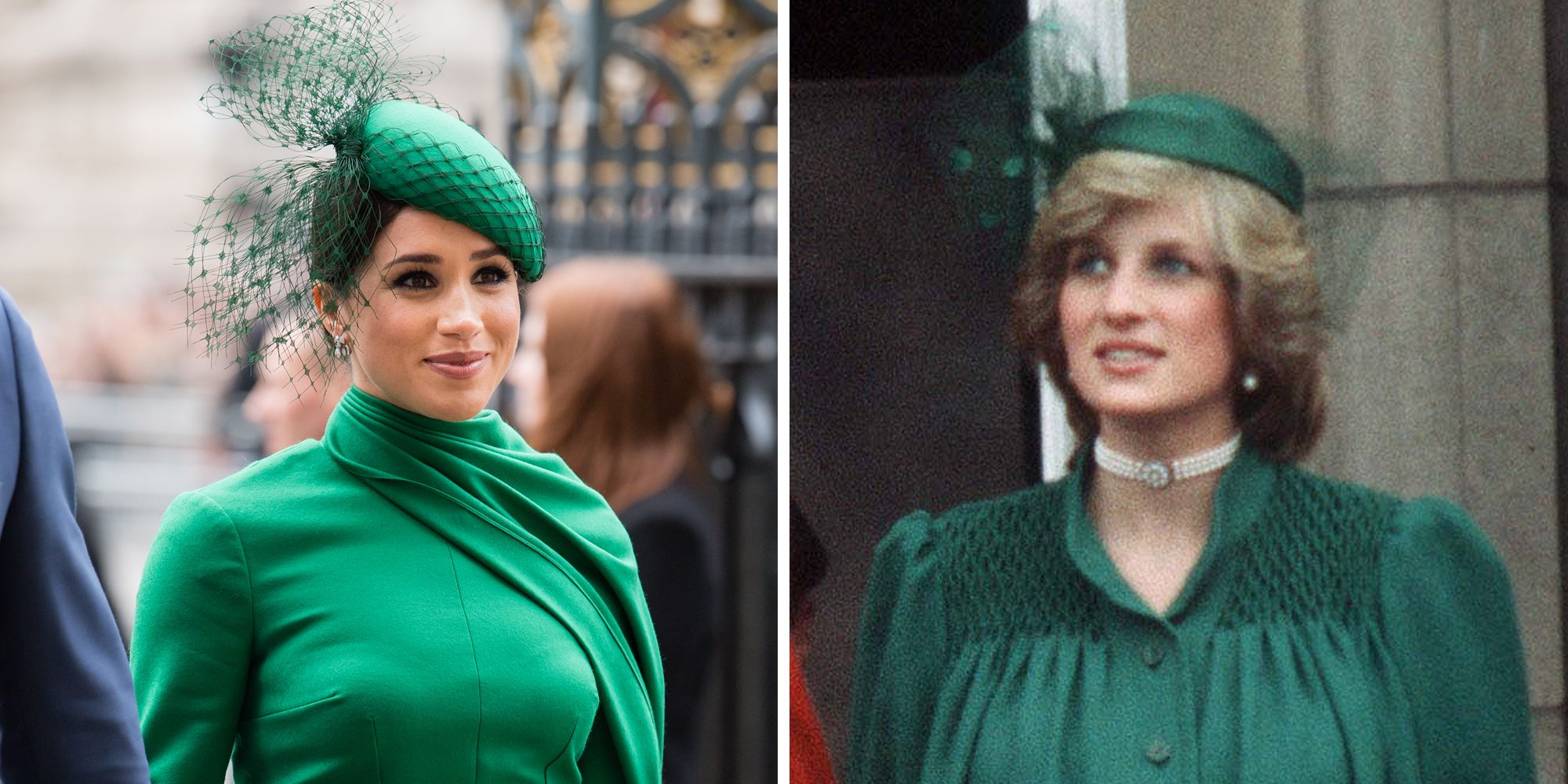 meghan markle s commonwealth day look nods to princess diana meghan markle s commonwealth day look