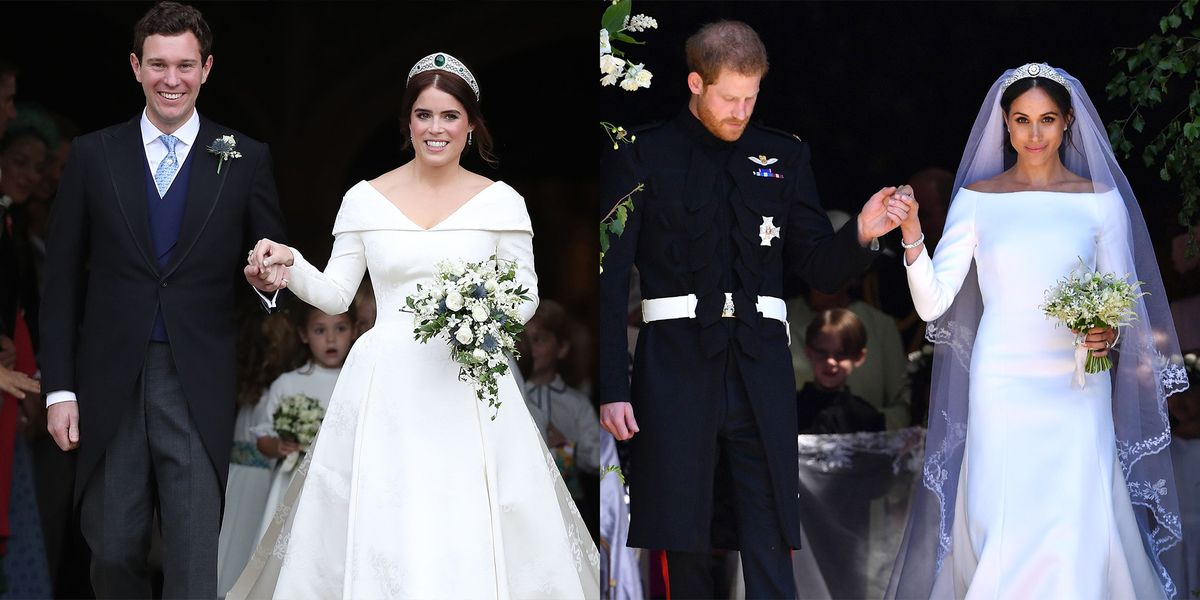Princess Eugenie S Amp Jack Brooksbank S Wedding Compared To