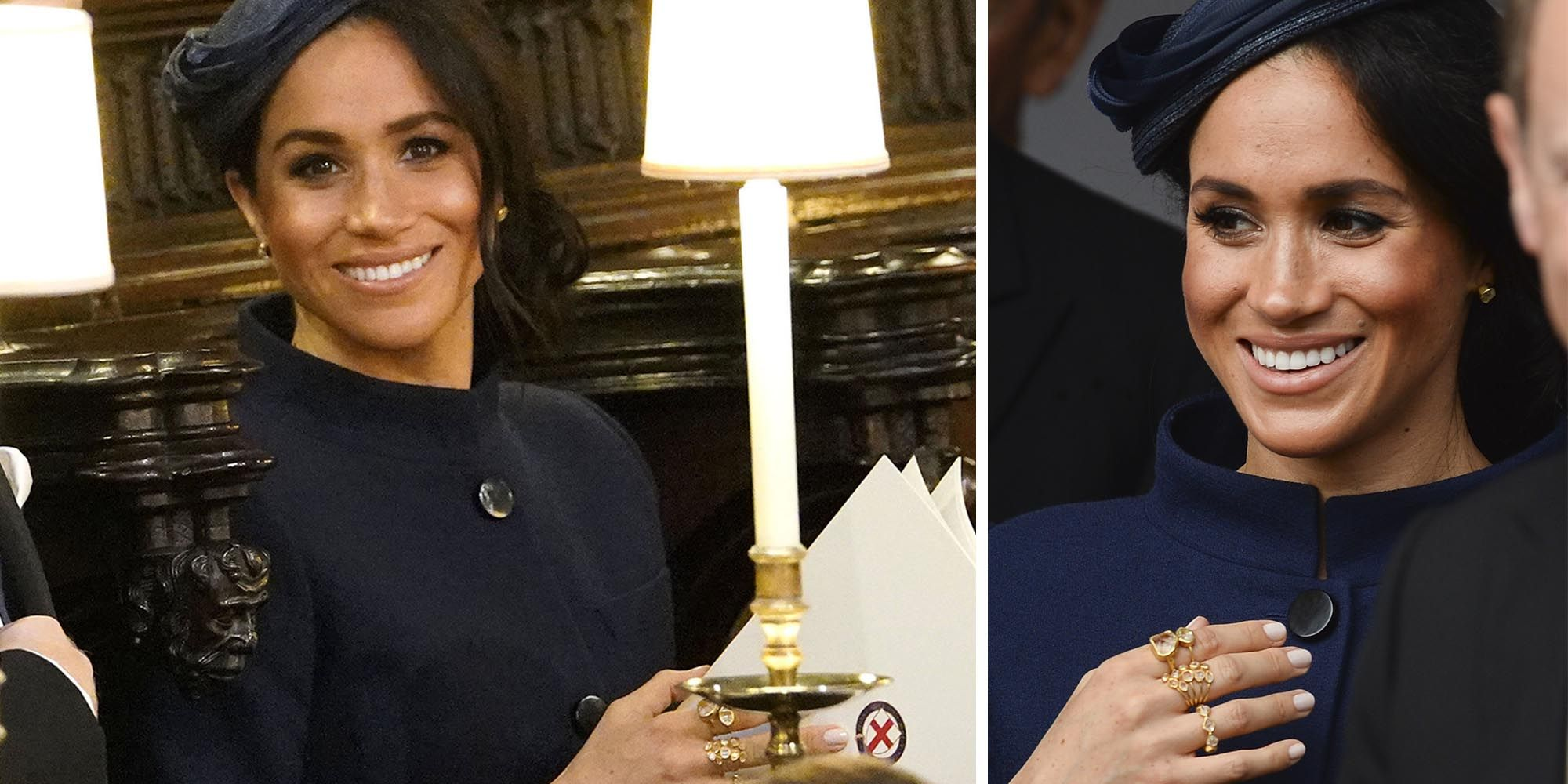 Meghan Markle Wore Unique Rings At Princess Eugenie S Wedding
