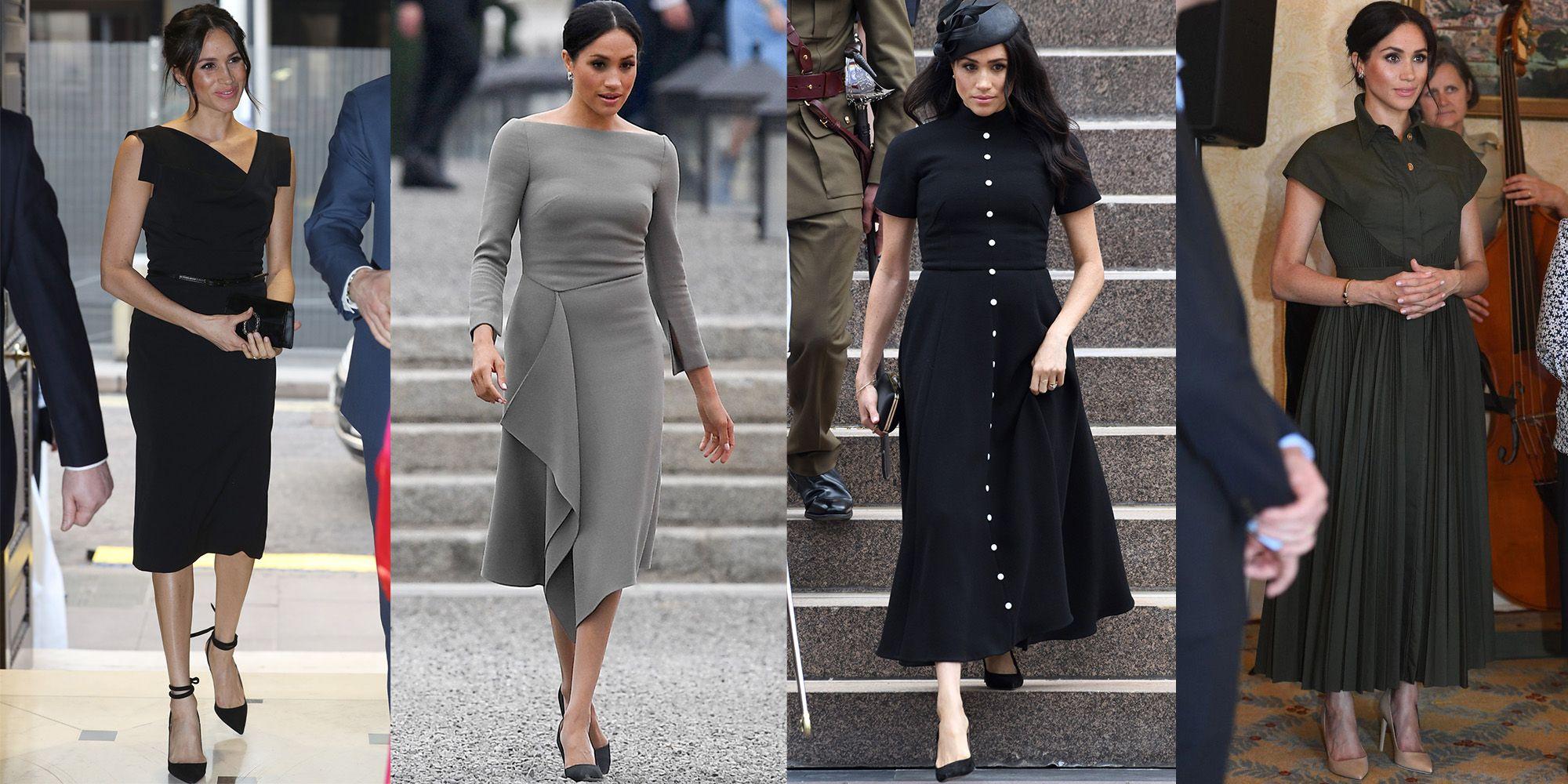 bbef58f3f070e How to Dress Like Meghan Markle - Shop Meghan Markle's Royal Duchess Style