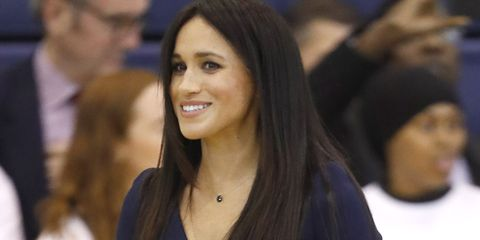 meghan markle just ditched her signature curls meghan markle
