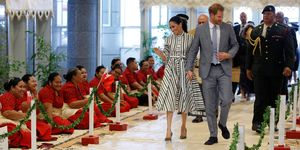 The Duke and Duchess of Sussex visit Tonga