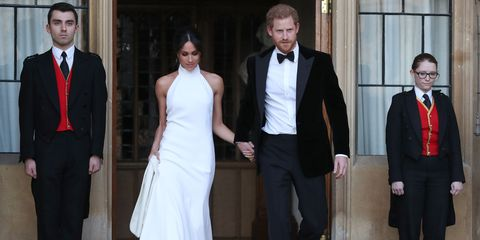 Meghan Markle S Second Wedding Dress Designer Stella Mccartney