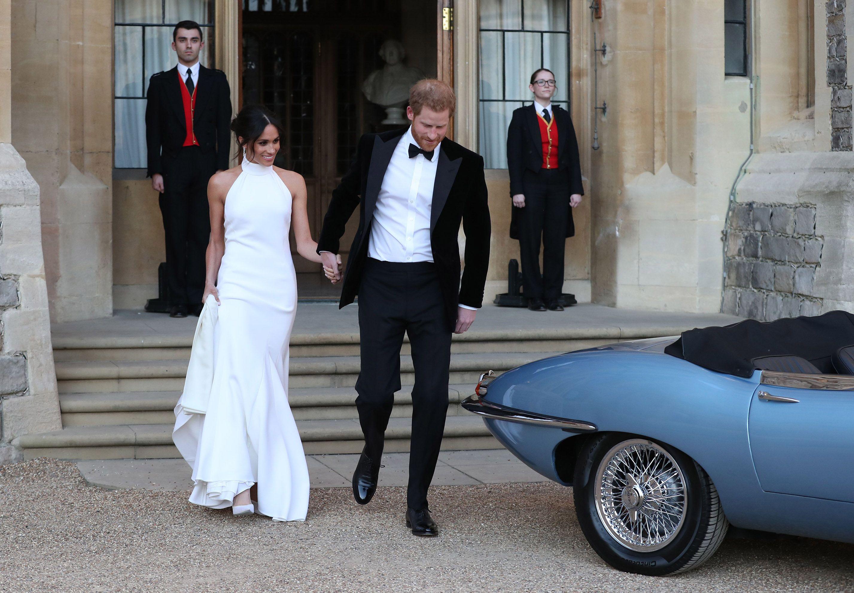db4e84c2b You Can Now Shop Meghan Markle s Stella McCartney Wedding Dress In-Store    Online