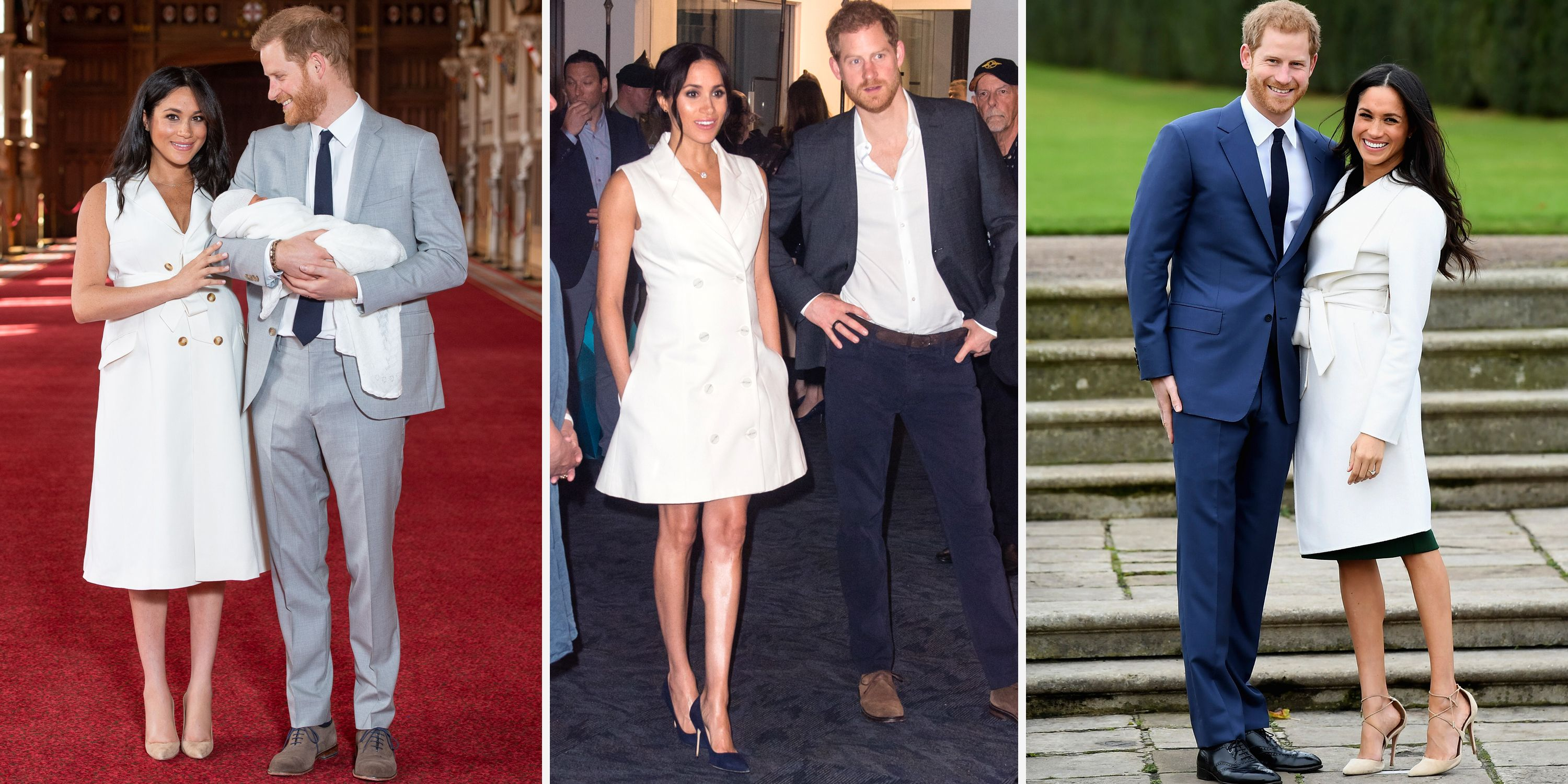 97d626cde010f Why Meghan Markle's Trench Dress at the Royal Baby's Debut Is Significant
