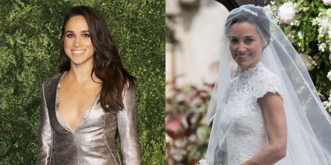Meghan Markle Pippa Wedding.Meghan Markle Attends Pippa Middleton S Wedding Reception