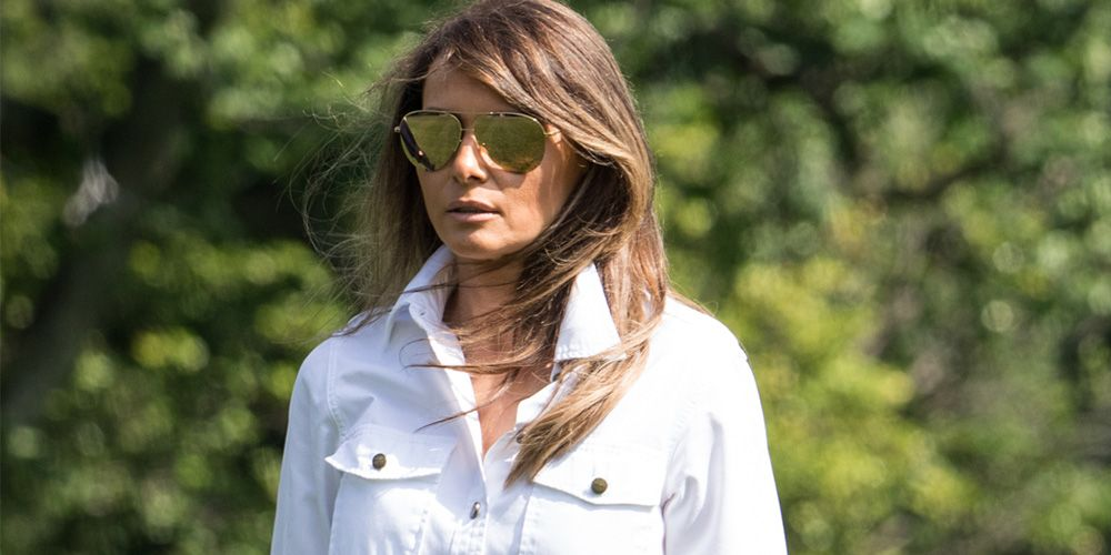 Melania Trump Tries to Look Approachable in Casual (but Expensive) Outfits