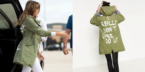Clothing, Green, Fashion, Outerwear, Khaki, Coat, Trench coat, Fashion design, Sleeve, Shoulder,