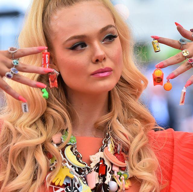 Nail, Lip, Blond, Nail care, Finger, Fashion accessory, Eyelash, Jewellery, Gesture, Style,