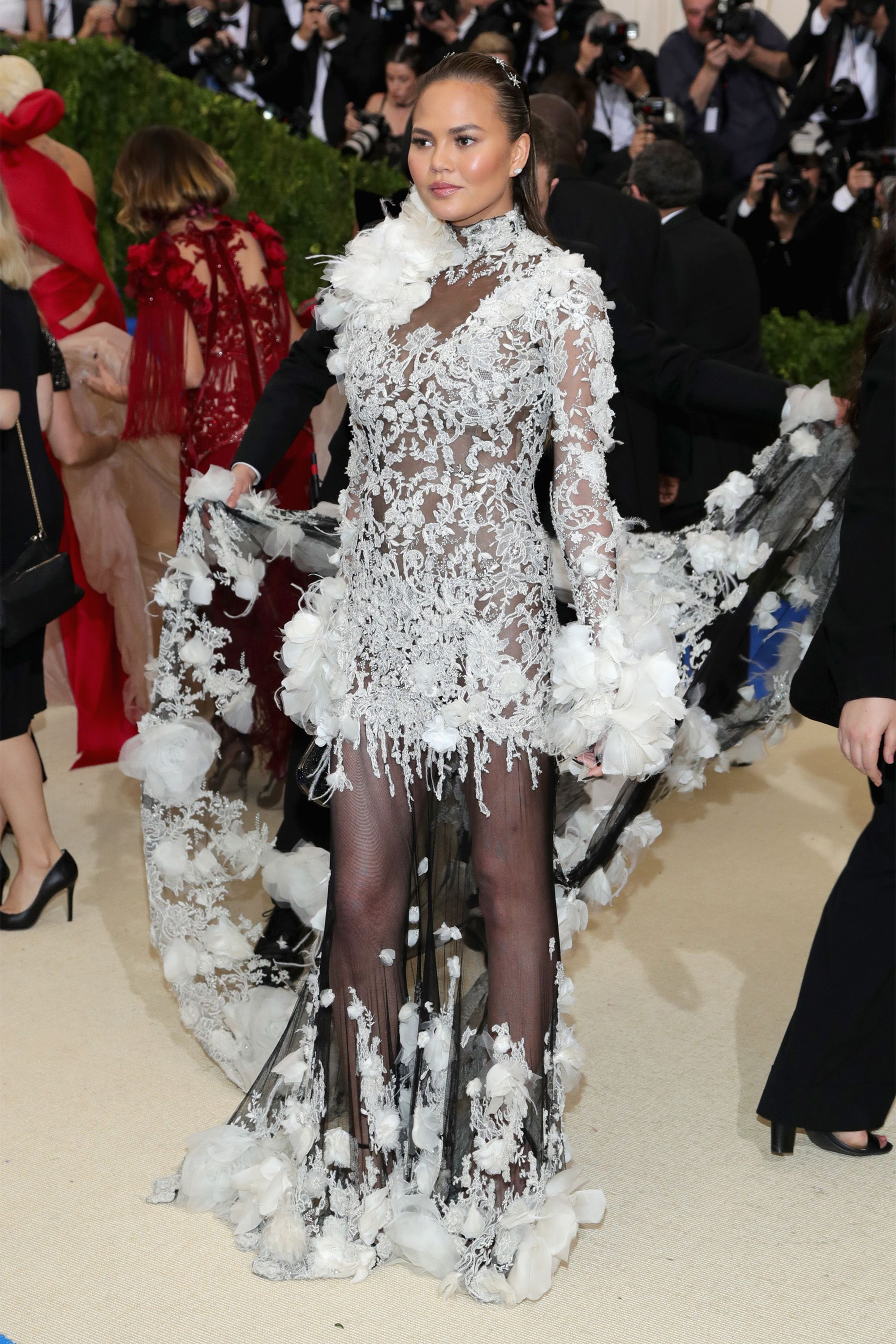 77949ac091a25 Best Met Gala Dresses - Red Carpet Style From the 2017 Met Gala