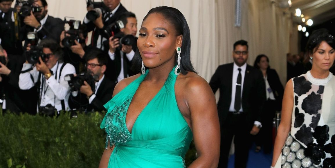 Serena Williams Shares First Photo Of Baby Girl Serena