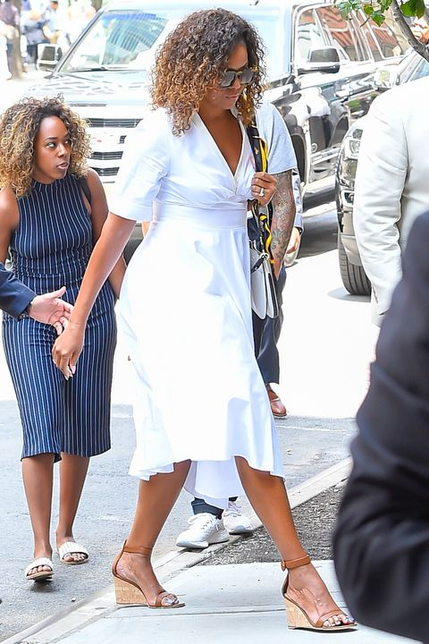 Celebrity Sightings In New York City - July 25, 2019