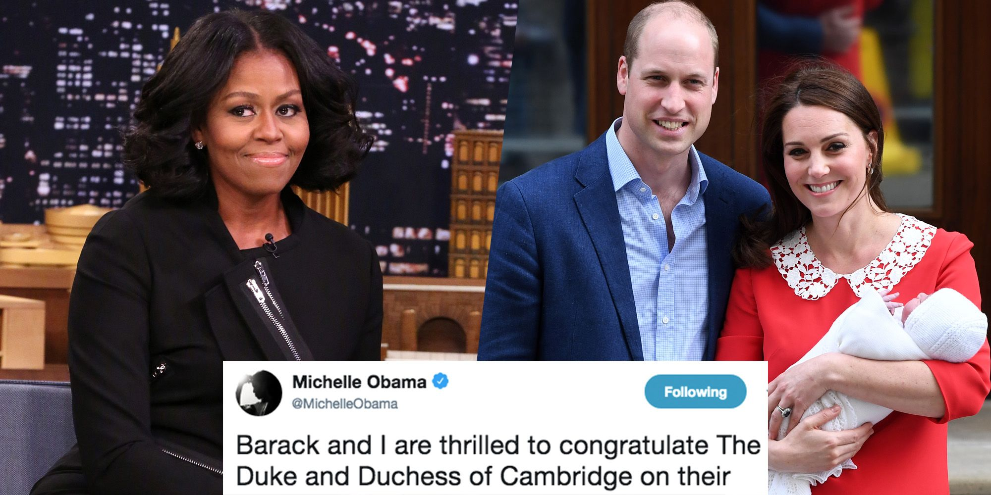 Michelle Obamas Response To The Royal Baby Is So Sweet