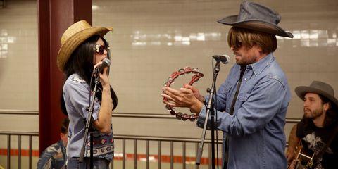 Headgear, Hat, Fashion accessory, Cowboy hat,