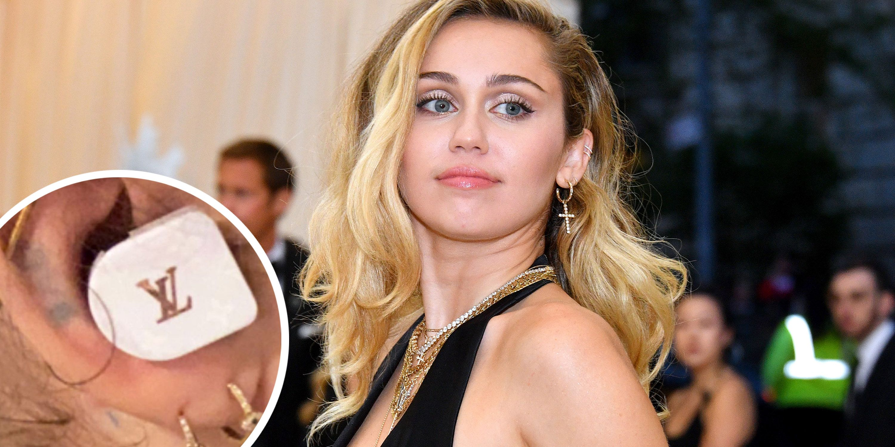 e77f982f0c01b Miley Cyrus Wears the Louis Vuitton Airpods Before They re Released