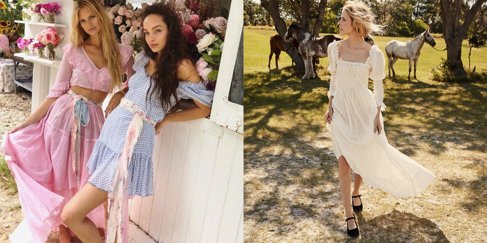 This Summer Is All About Dressing Like a Milkmaid