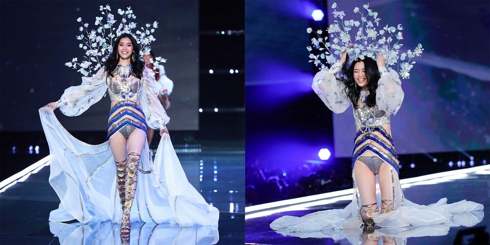 26d06ae30f Ming Xi Responds to Falling at the Victoria s Secret Fashion Show - Ming Xi  Falls at VS Fashion Show