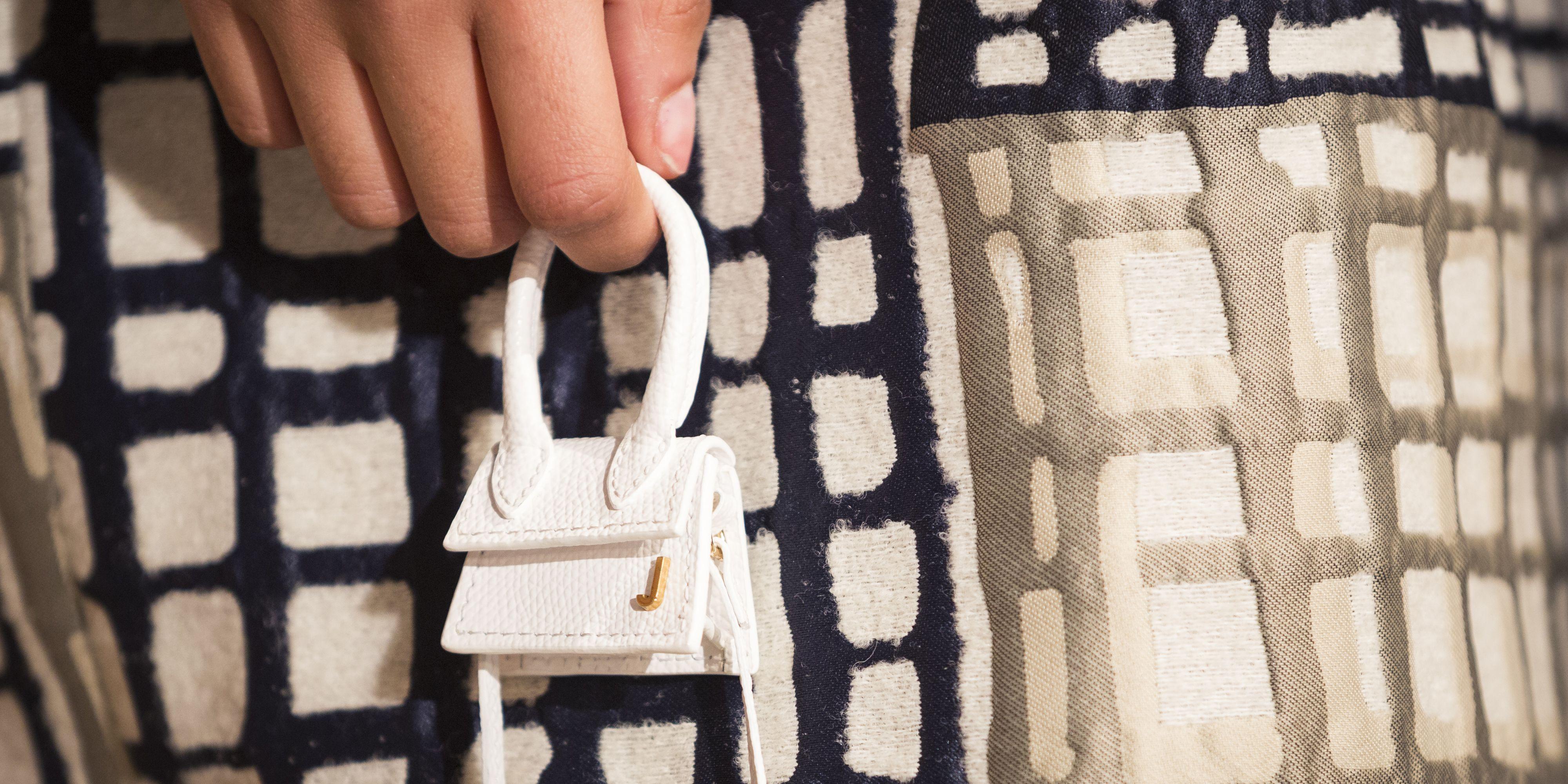 Jacquemus Debuts Tiny Handbag That Can Barely Fit Airpods at Paris Fashion  Week
