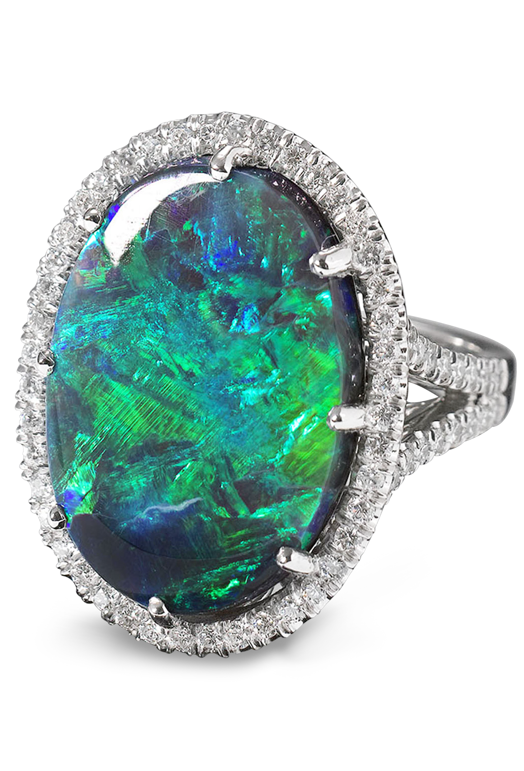 with oval blue tourmaline diamond nouveau rings ring green white gold palladium catalog