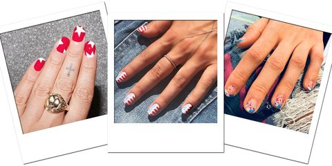 4th Of July Nail Art Ideas Chic Designs For July Fourth Nails