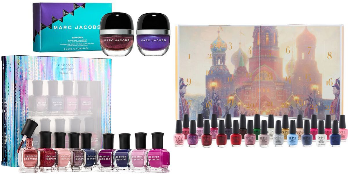 10 Best Nail Polish Gift Sets for Cute Christmas Manicures 2018