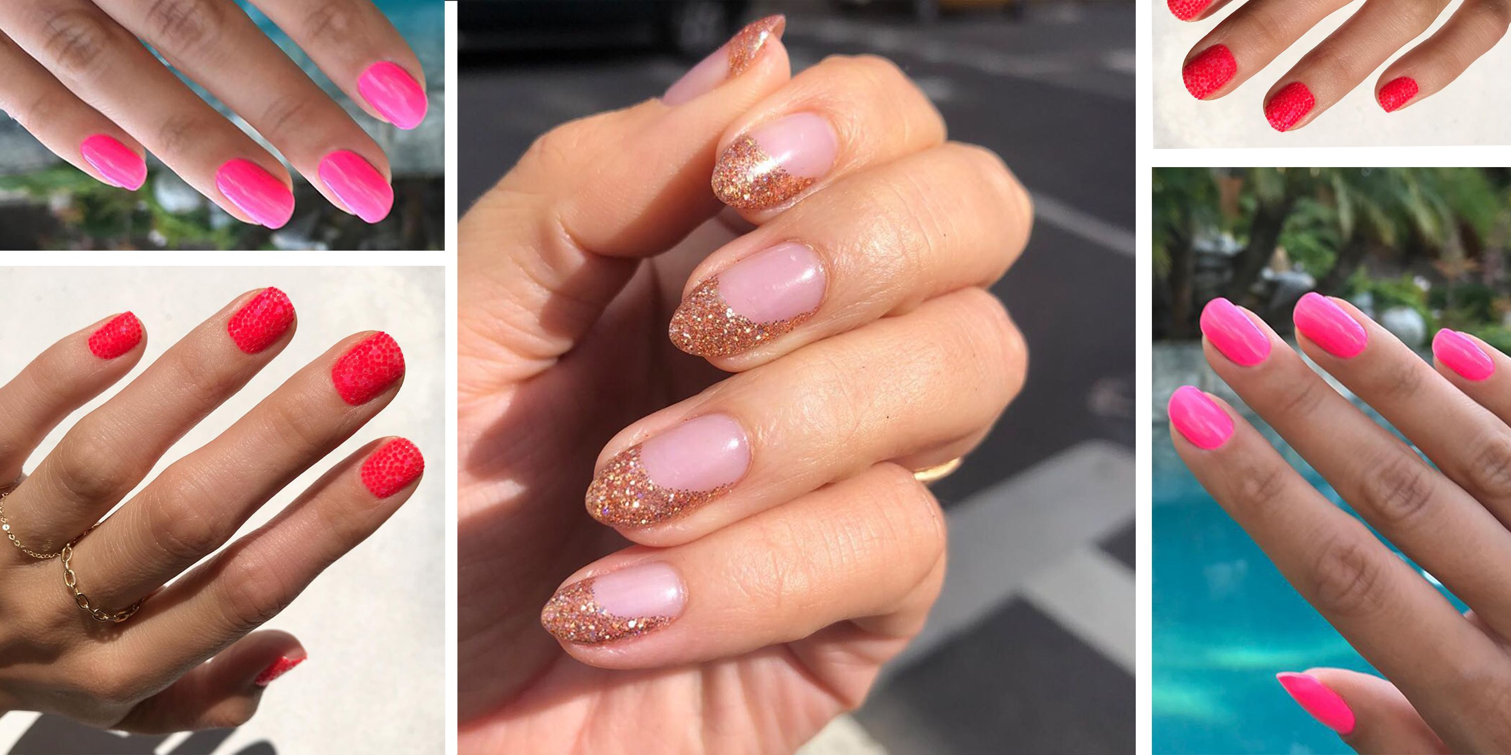 15 Pink Nail Art Ideas and Designs- Cute Pink Manicure Ideas