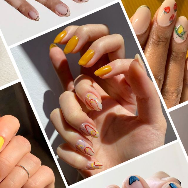 Summer 2020 Nail Trends Summer Vacation Manicure Ideas