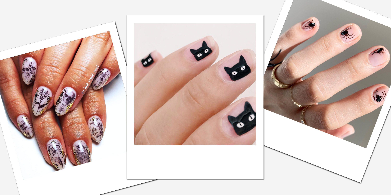 30 DIY Halloween Nail Art Ideas , Best Nail Designs and