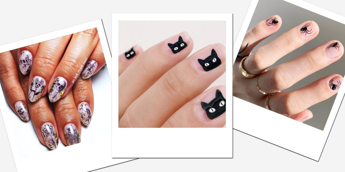 30 DIY Halloween Nail Art Ideas - Best Nail Designs and ...