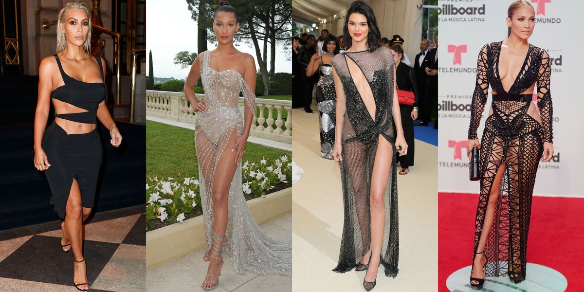 14 Naked Dresses From 2017  Sexy Naked Dresses From 2017 -1398