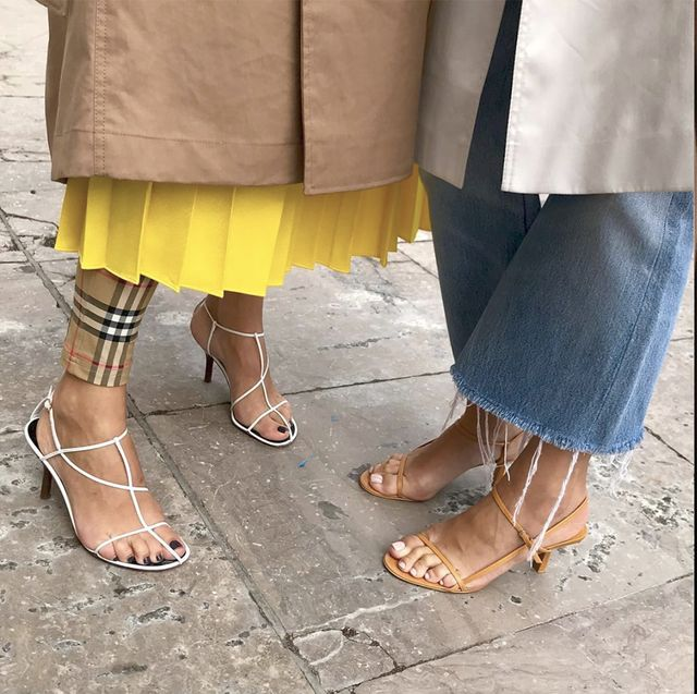Naked Sandal Summer 2019 Shoe Trend