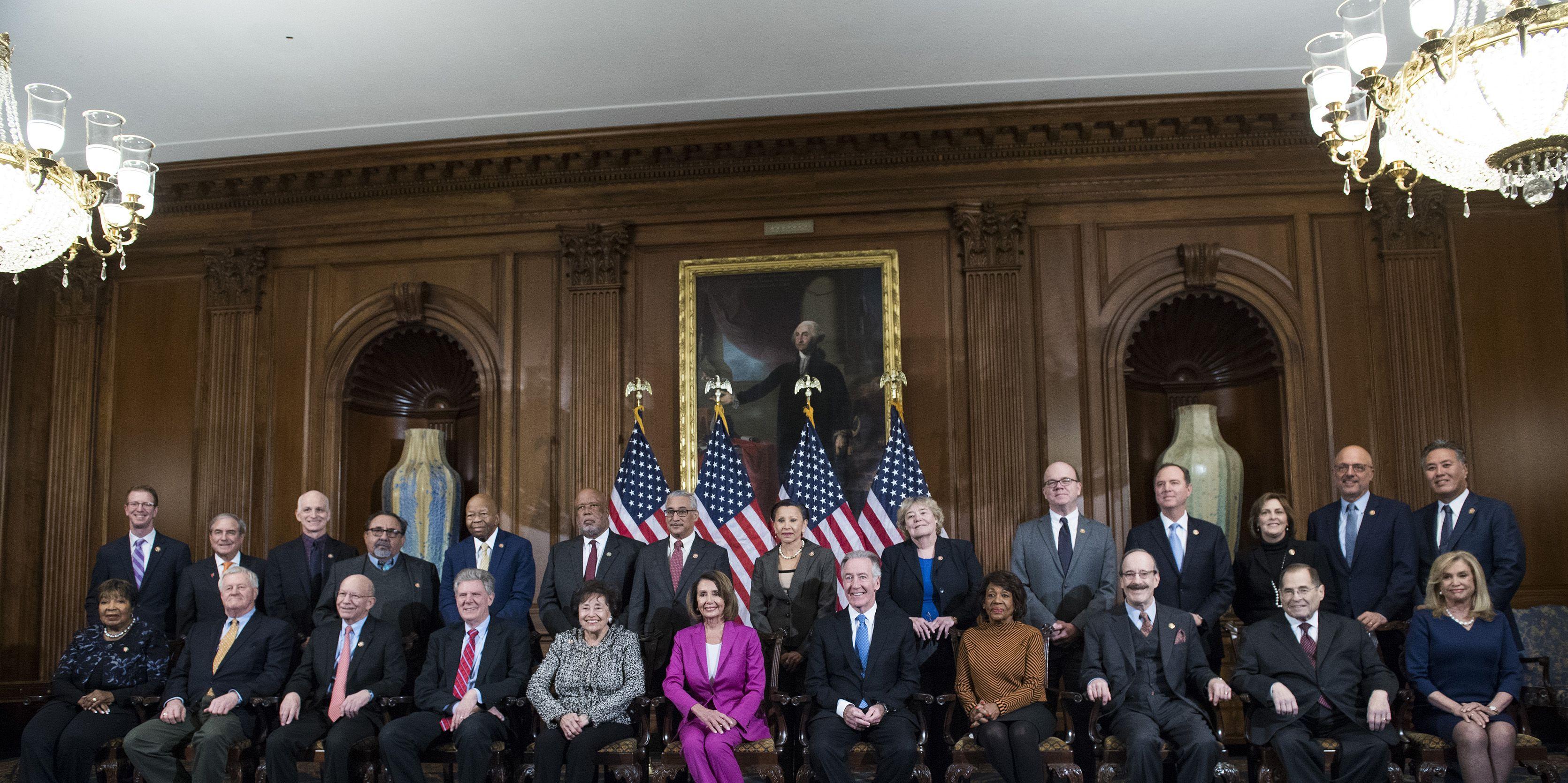 House Chairmen Photo