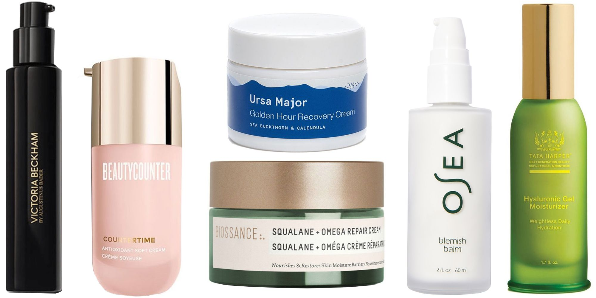 best natural face products