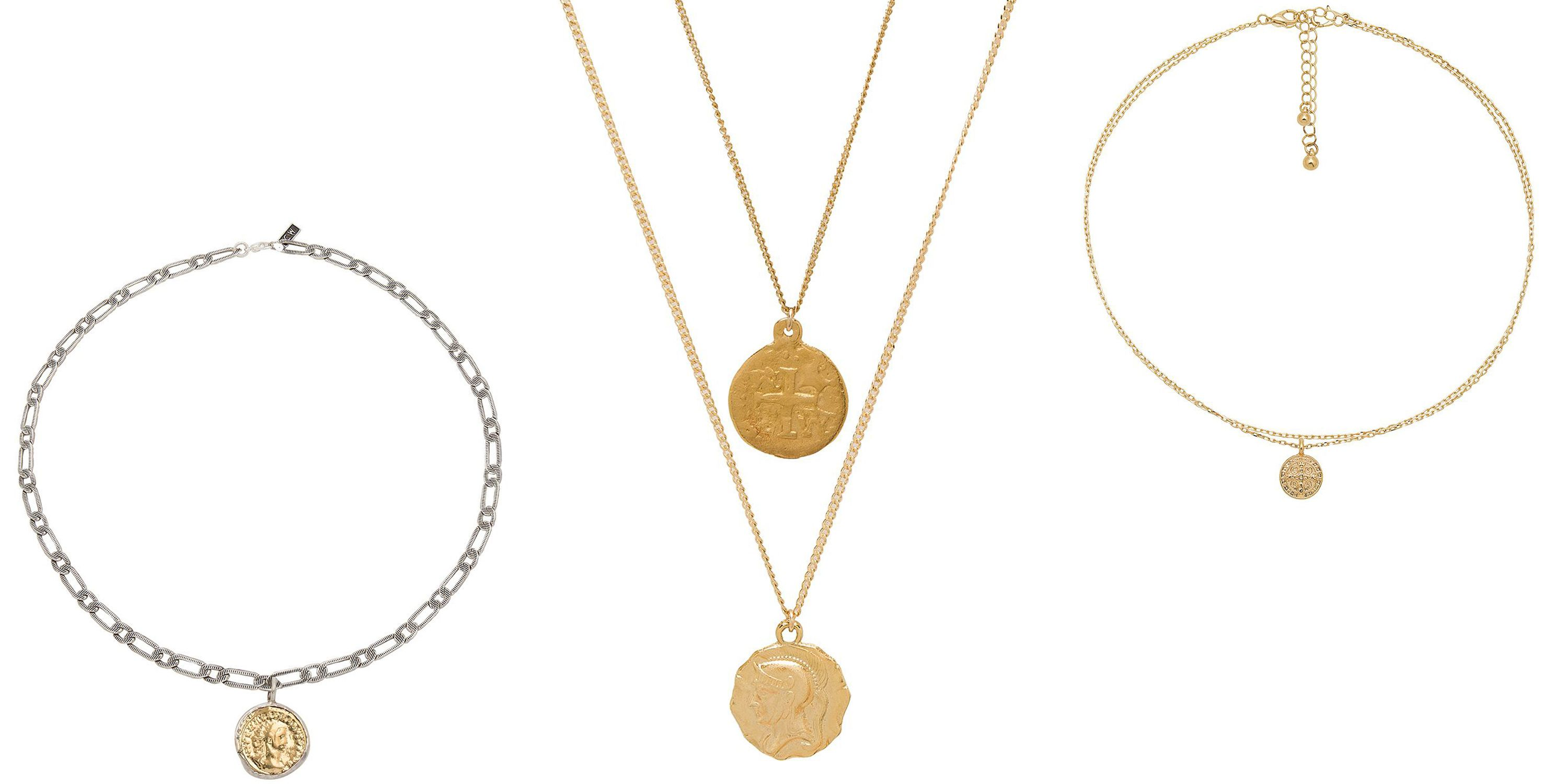 The Best Coin Necklaces to Shop Now