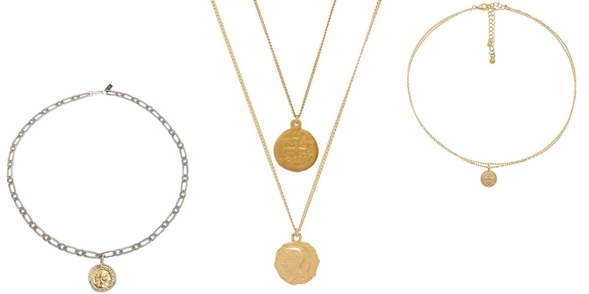 Coin Necklaces For Women To Shop Best Gold Coin Necklaces