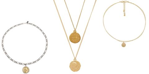 Coin necklaces for women to shop best gold coin necklaces image aloadofball Choice Image