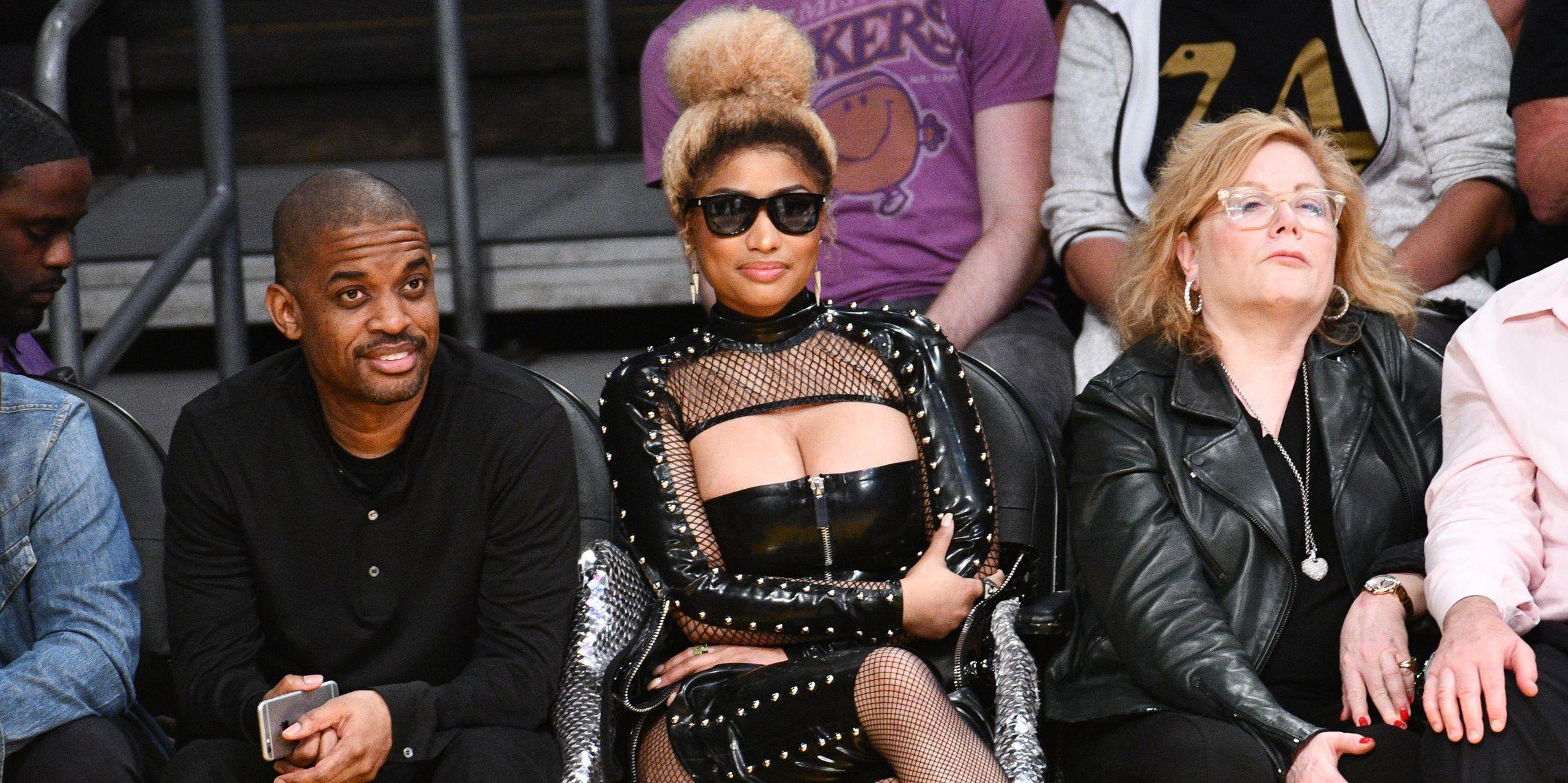 Glavna Zemlja Iskreno Imenovati Nicki Minaj Leather Triangletechhire Com