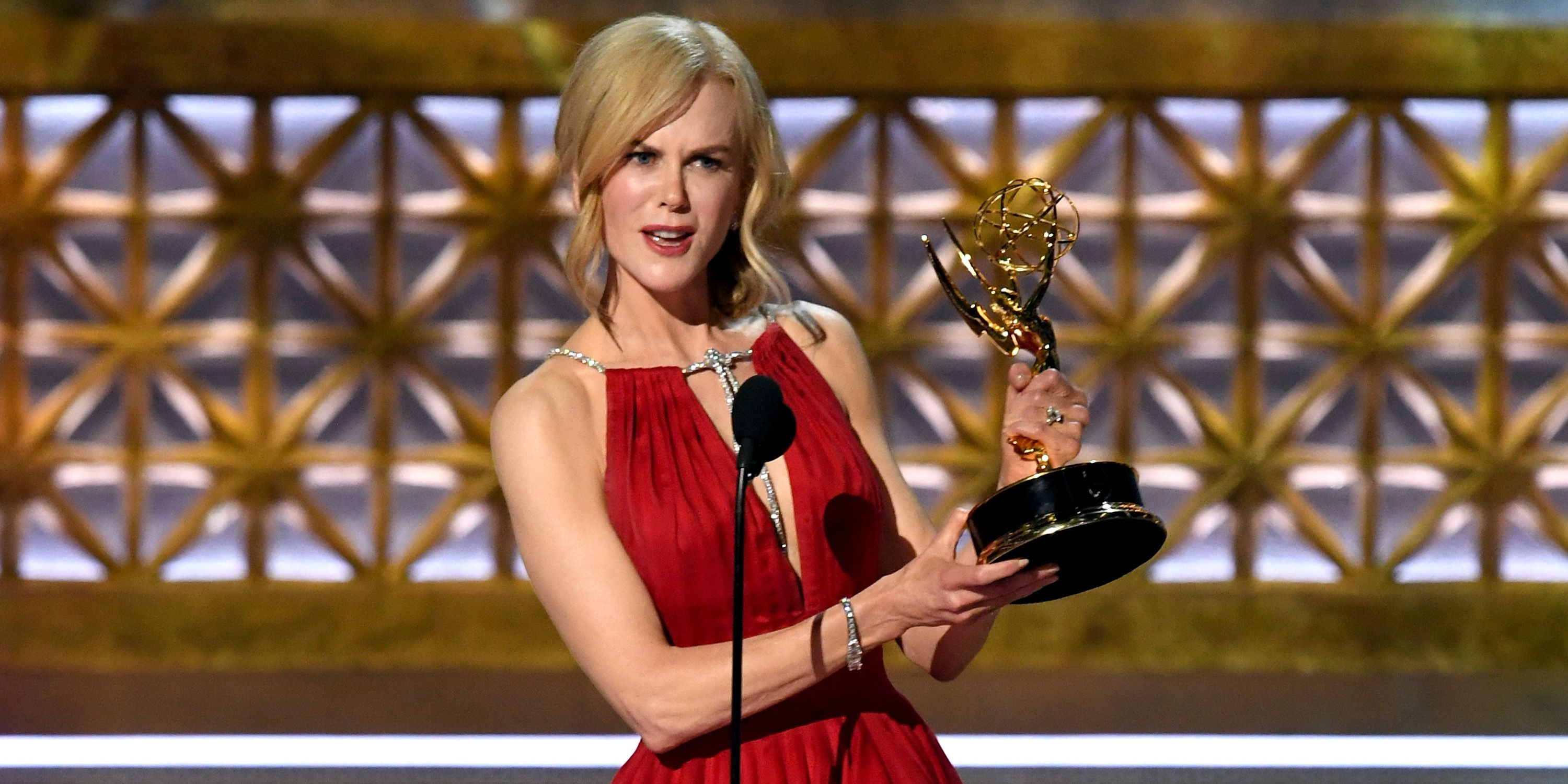 Nicole Kidman Made a Powerful Statement About Domestic Abuse At The Emmys