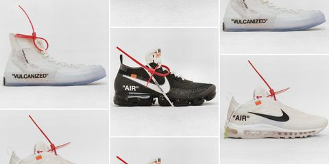 brand new c0666 40b19 Virgil Abloh and Nike Sneaker Collection - Off-White Nike Sneaker ...