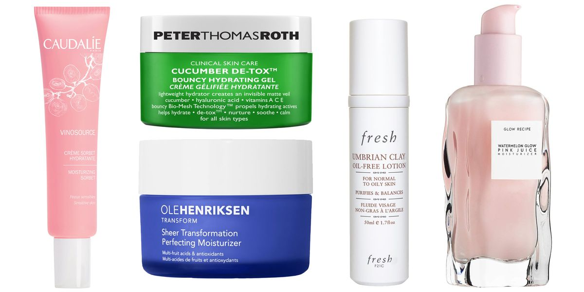 25 Oil Free Moisturizers Best Facial Moisturizers For