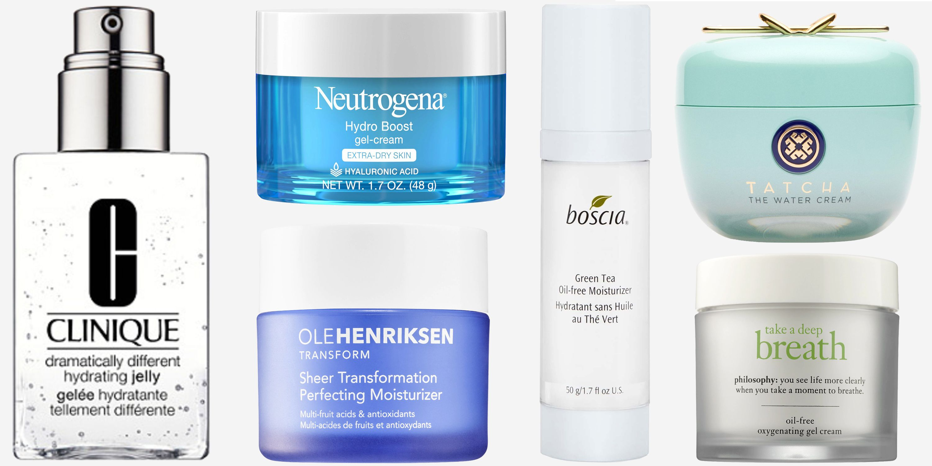 18 Best Oil-Free Moisturizers - Facial Moisturizers for Oily