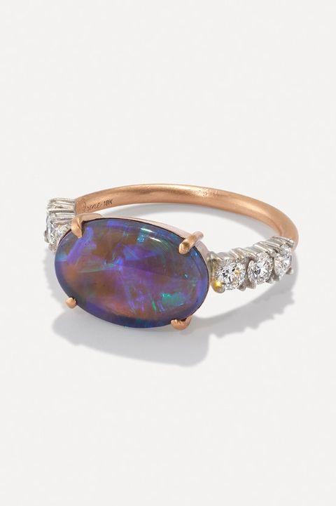 opal engagement ring irene neuwirth