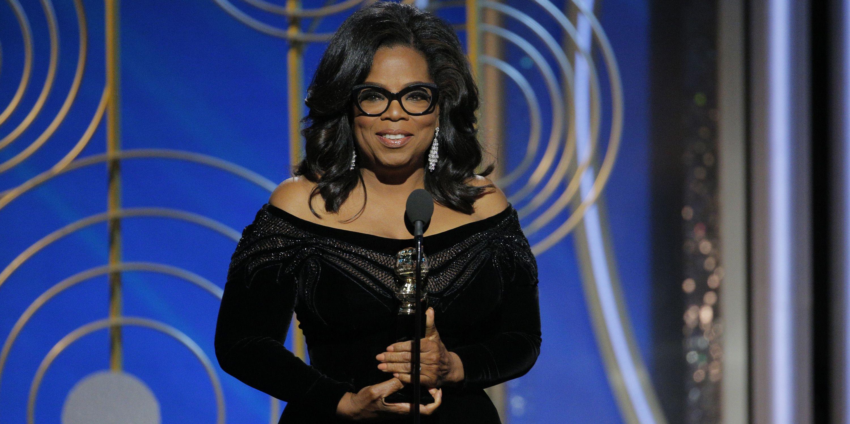 Here's the Full Transcript of Oprah's Inspirational Golden Globes Speech