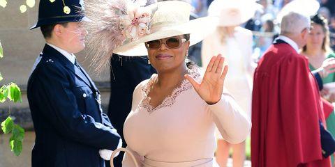 Oprah Winfrey Royal Wedding.Oprah Wears Stella Mccartney To Royal Wedding Oprah Winfrey