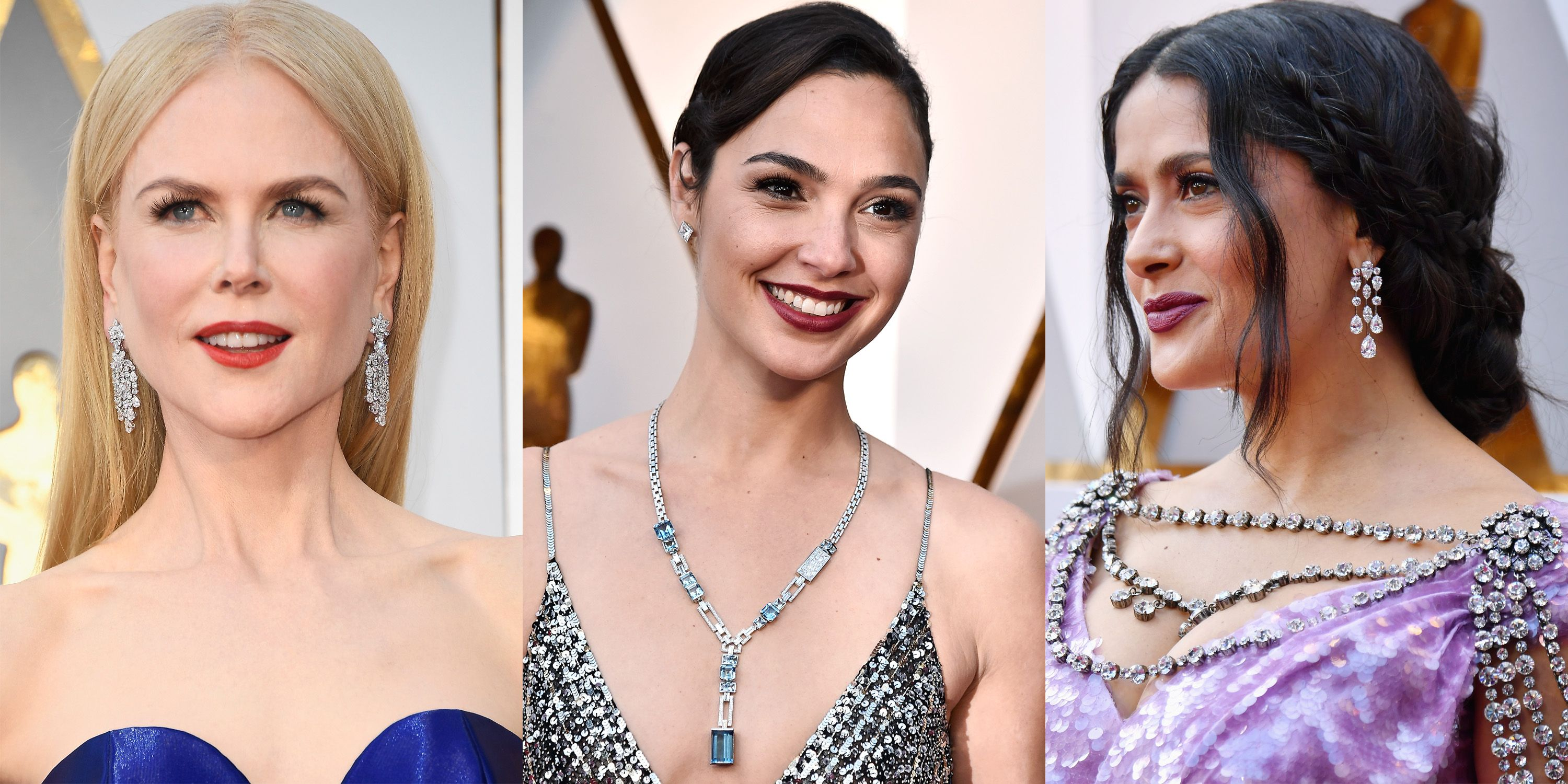 Best Oscars 2018 Jewelry From the Red Carpet Academy Awards