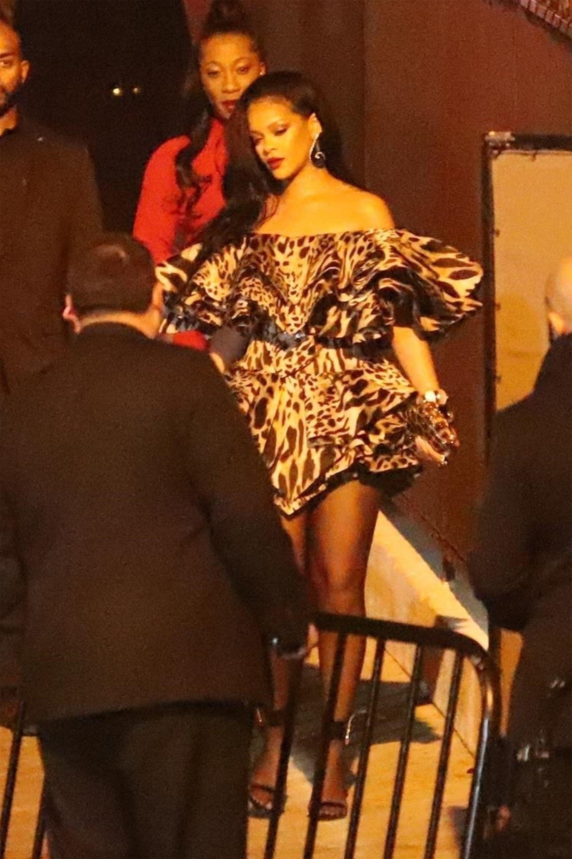 fa19c510fd Rihanna Attends Beyoncé and Jay-Z s Oscar 2019 Private After Party